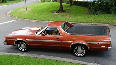 1979 Ford Ranchero 500 PACKAGE 1979 FORD RANCHERO 500 34,000 ORIGINAL MILES IN FABULOUS CONDITION INSIDE AN OUT
