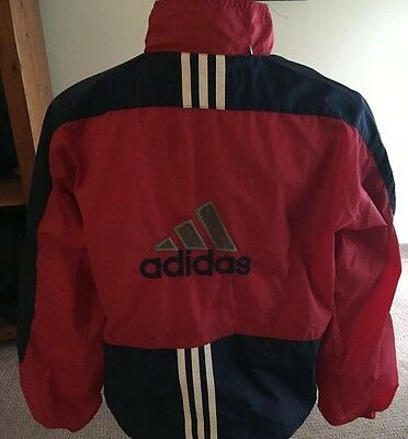 Adidas Jacket Youth Xl Excellent! Red/Blue