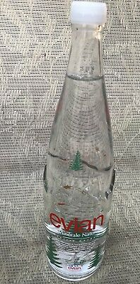 Limited Edition Holiday Xmas Trees RARE EVIAN COLLECTIBLE Bottle Unopened French