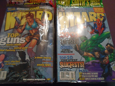 Wizard Comic Magazine Lot  issues #101-125 All 25 issues VF-NM 25 issues!!