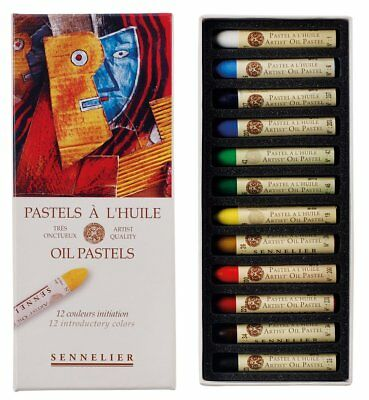 Sennelier Oil Pastels Set Of 12