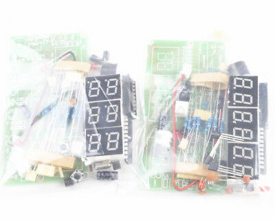 6-Bits C51 Digital Electronic Clock Electronic Production Suite DIY Kits