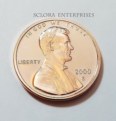 2000 S Lincoln Memorial *proof* Cent / Penny  **free Shipping**