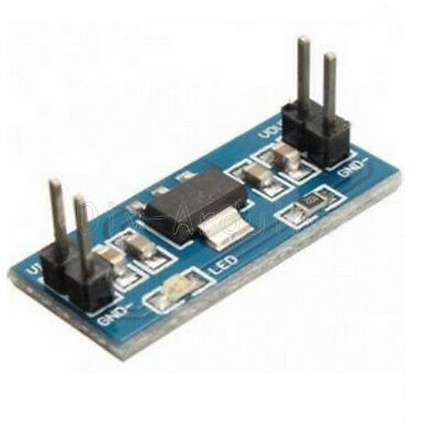 5Stks 6.0V-12V to 5V AMS1117-5.0V Power Supply Module AMS1117-5.0 TOP
