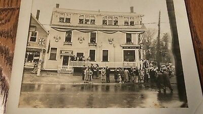 Original 1920's Photo - The Pure Milk Company - Charlottetown, PEI
