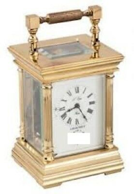 L'epee Timepiece Carriage Clock With Key