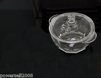1L Fashion Toughened Crystal Glass Cooker Multi-Use Cover Band Heat Resistant NN