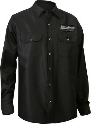 NEW Throttle Threads Long Sleeve Shop Shirt
