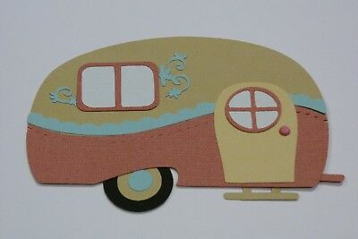 Vintage Camper Fully Assembled Die Cut