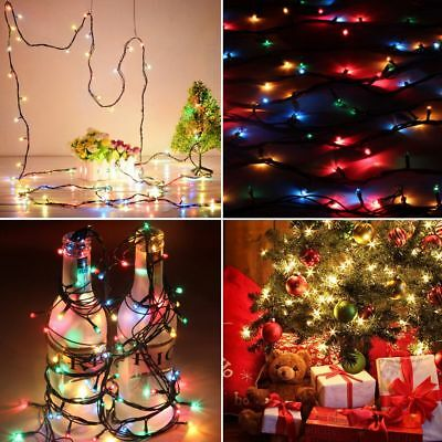 5M LED String Copper Wire String Battery Powered Party XMAS Light Warm Fairy