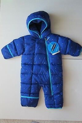 NWT Baby Boy Baby Girl Columbia Snowsuit Frosty Freeze Bunting 3-6M MSRP$100 NEW