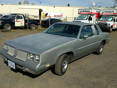 1984 Oldsmobile Cutlass  1984 Oldsmobile Cutlass Supreme