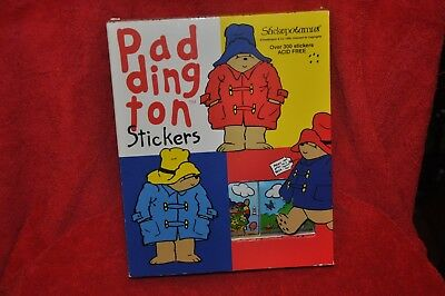 Paddington Bear Stickopotamus Box of 300+ Stickers Unopened 9 designs