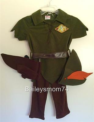 Peter Pan LINK Costume 4 5 Halloween LEGEND OF ZELDA Fancy Dress Up Child NEW