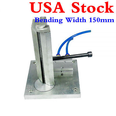USA!! 150mm Pneumatic Dual-axis Metal Strip Letter Bender Machine for LED Letter