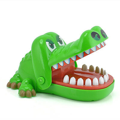 Big Crocodile Mouth Dentist Bite Finger Toy Family Game For Kids Xmas Gift NEW