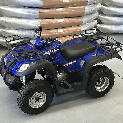 NEW 2017 JAG 250cc FARM QUAD ATV HUNTING AG BIKE INCL ASSEMBLY & PRE-DELIVERY