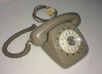 Dial Telephone PMG STC 801 Grey