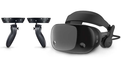 Samsung Odyssey HMD Windows Mixed Reality Headset w/ Controllers, Global Ship