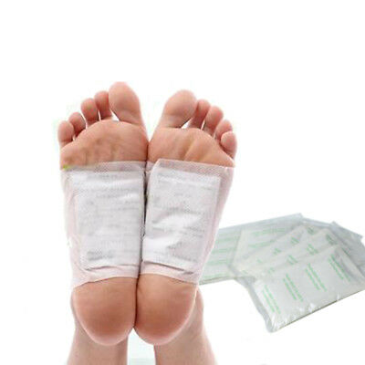 10 x PATCHES KINOKI DETOX FOOT PADS Remove Body Toxins WEIGHT LOSS stress relief