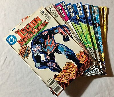 Lot Of 23 Legion Of Super-Heroes Comic Books (Dc, 1983) Bronze Age✰ #287,288...