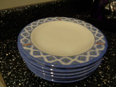Marks And Spencer Toscana Side Plates X 6