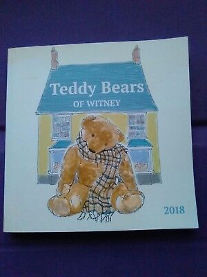 Teddy Bears Of Witney 2018 Catalogue...new...a Must Have