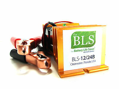 BLS-12/24B EX AUSTRALIA Battery Life Saver reviver for 12 and 24 volt golf Cart