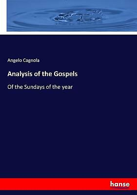 Analysis of the Gospels Angelo Cagnola