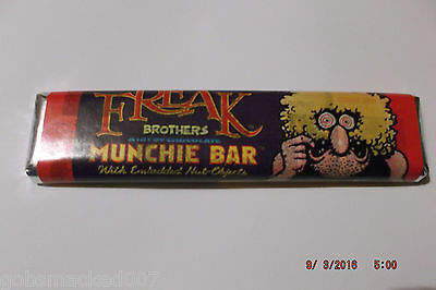 "Furry Freak Brothers ""Munchie Bar"" A HIT OF CHOCOLATE Fat Freddy"