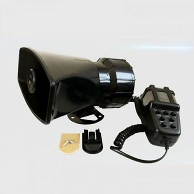 7 Sound Car Electronic Warning Motorcycle Alarm Firemen Ambulance Loudspeaker