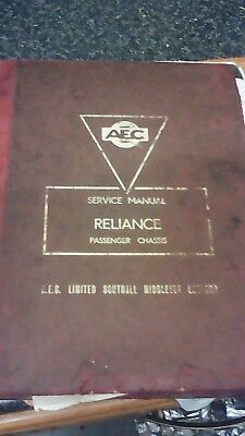 AEC reliance sercice manual