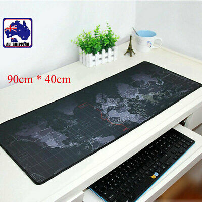 80x30/90x40cm World Map Game Mouse Pad Mat Laptop Computer Mousepad SMPA701