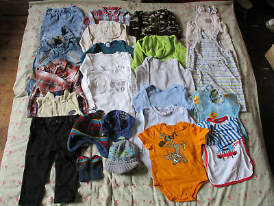 9-12 Months Baby Boys Clothing Autumn Bundle including a formal outfit
