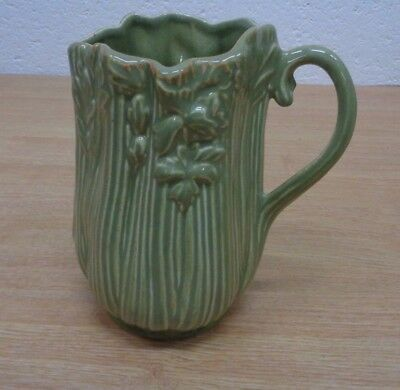 Celery Green Jug Sylvac ? 5033 Ceramic Height 18cm Pottery