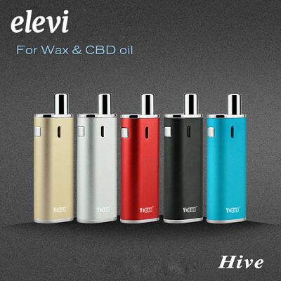 Electronic Vape E Pen For WAX and CBD Oil Window And USB Charging 5 Colour