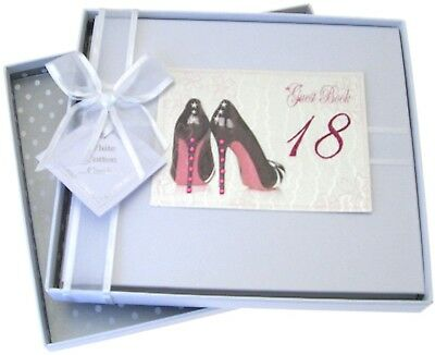 18th Birthday, Guest Book, Black Shoes