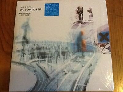 Radiohead OK Computer Triple Blue Vinyl Limited Edition Brand New but not sealed