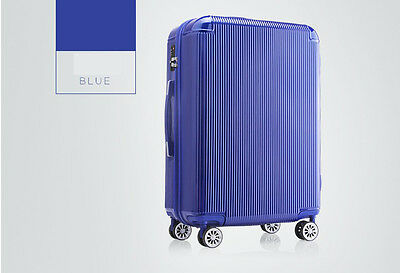 "28"" Blue TSA Coded Lock Universal Wheel ABS+PC Travel Suitcase/Luggage Trolley*"