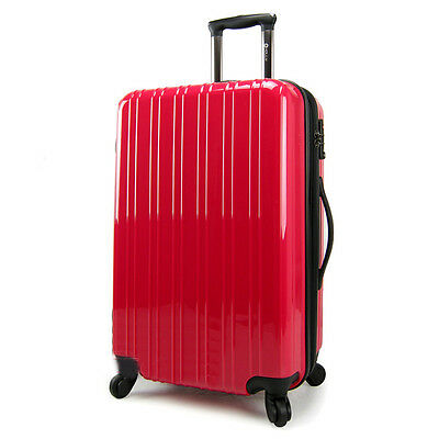 "24"" Rose-bengal Height 65cm Universal Wheel ABS Travel Suitcase/Luggage Trolley"
