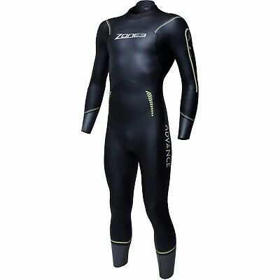 Zone3 Advance Wetsuit Size - MEDIUM LARGE BLACK
