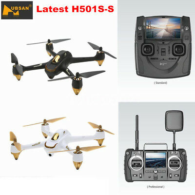 Hubsan H501S S X4 FPV Drone Brushless RC Quadcopter 1080P GPS RTF Latest Edition