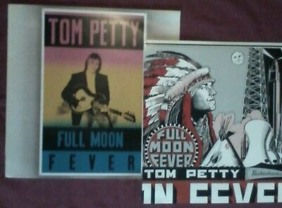 Tom Petty Full Moon Fever 1989 MCA A1-U B-1U ex