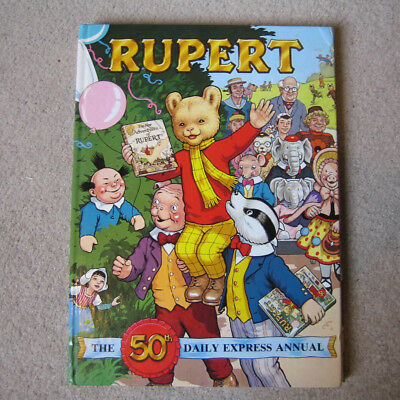 THE RUPERT ANNUAL 50th ANNIVERSARY EDITION 1985