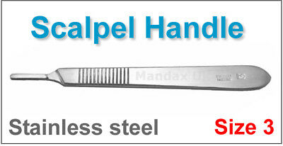 Surgical Scalpel Handle Size 3 Sign Makers Crafts Vets Surgeon Doctor Stainless
