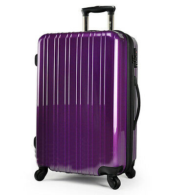 "26""  Purple Height 70cm Universal Wheel ABS Travel Suitcase/Luggage Trolley"