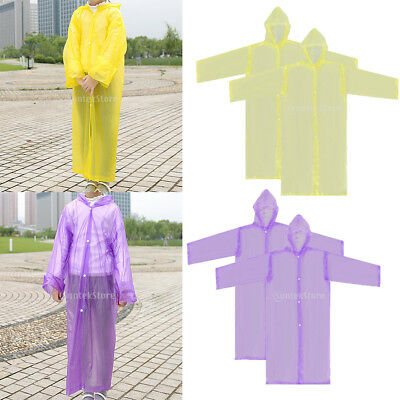 4 Non-disposable Waterproof Kid Child Raincoat Poncho for Walking Emergency