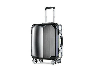 "29"" Black Coded Lock Universal Wheel Busines Travel Suitcase/Luggage Trolley #"