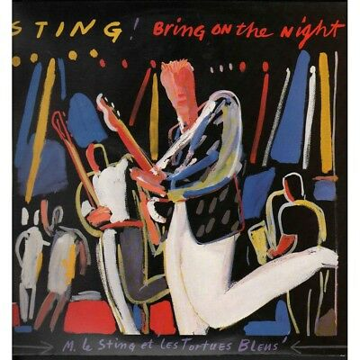 Sting Lp Vinile Bring On The Night / A&M 396705-1 Nuovo 0082839670517