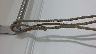 British Army Marines Ww2 Rope Lanyard For Jack Knife Pistol Compass Whistle Key